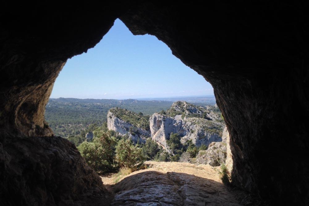 Trou Souffleur Mont Gaussier St Rémy de Provence