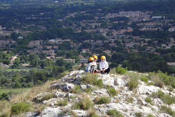 Via coradata lac de St Rémy de Provence